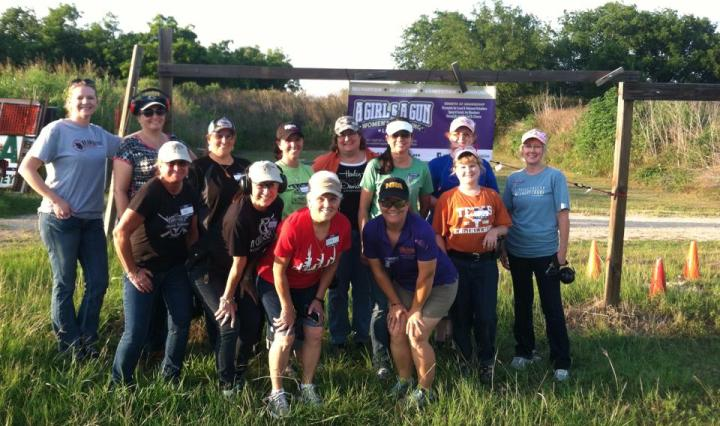 Texas Personal Firearms Training A Girl and A Gun Women's Shooting League