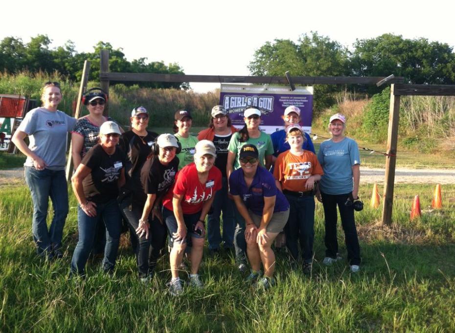 Texas Personal Firearms Training A Girl and A Gun Women's Shooting League